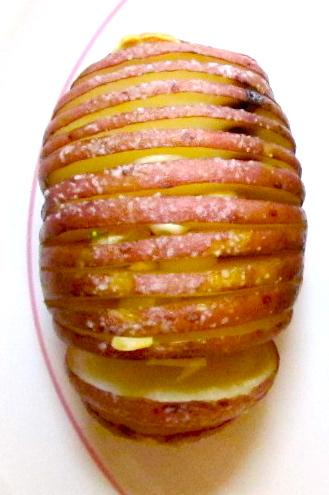 Slivered Garlic Potatoes